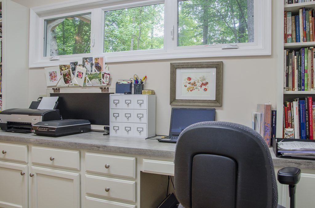 Custom Office by Balducci Additions and Remodeling