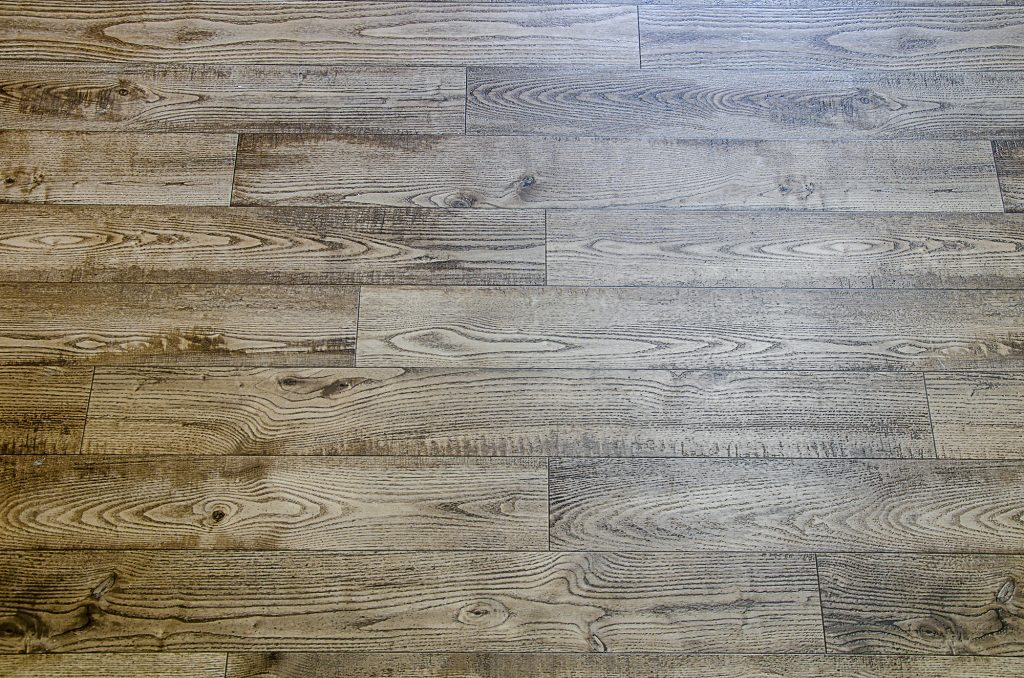 Detail shot of hardwood flooring installed by Balducci Builders