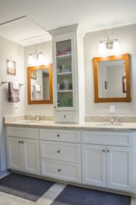storage solutions bathroom renovation remodel richmond