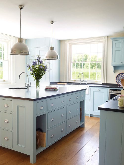 kitchen design trend blue cabinets balducci additions and