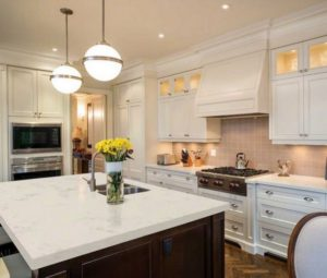 quartz countertops kitchen renovation richmond