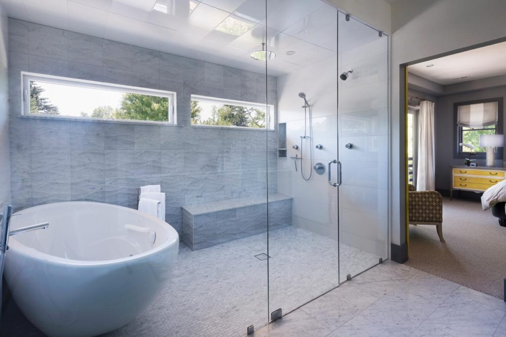 Wet rooms the newest trend in bathroom design balducci for Wet room bathroom designs