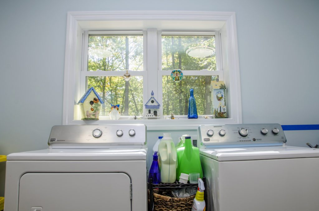 home laundry room addition